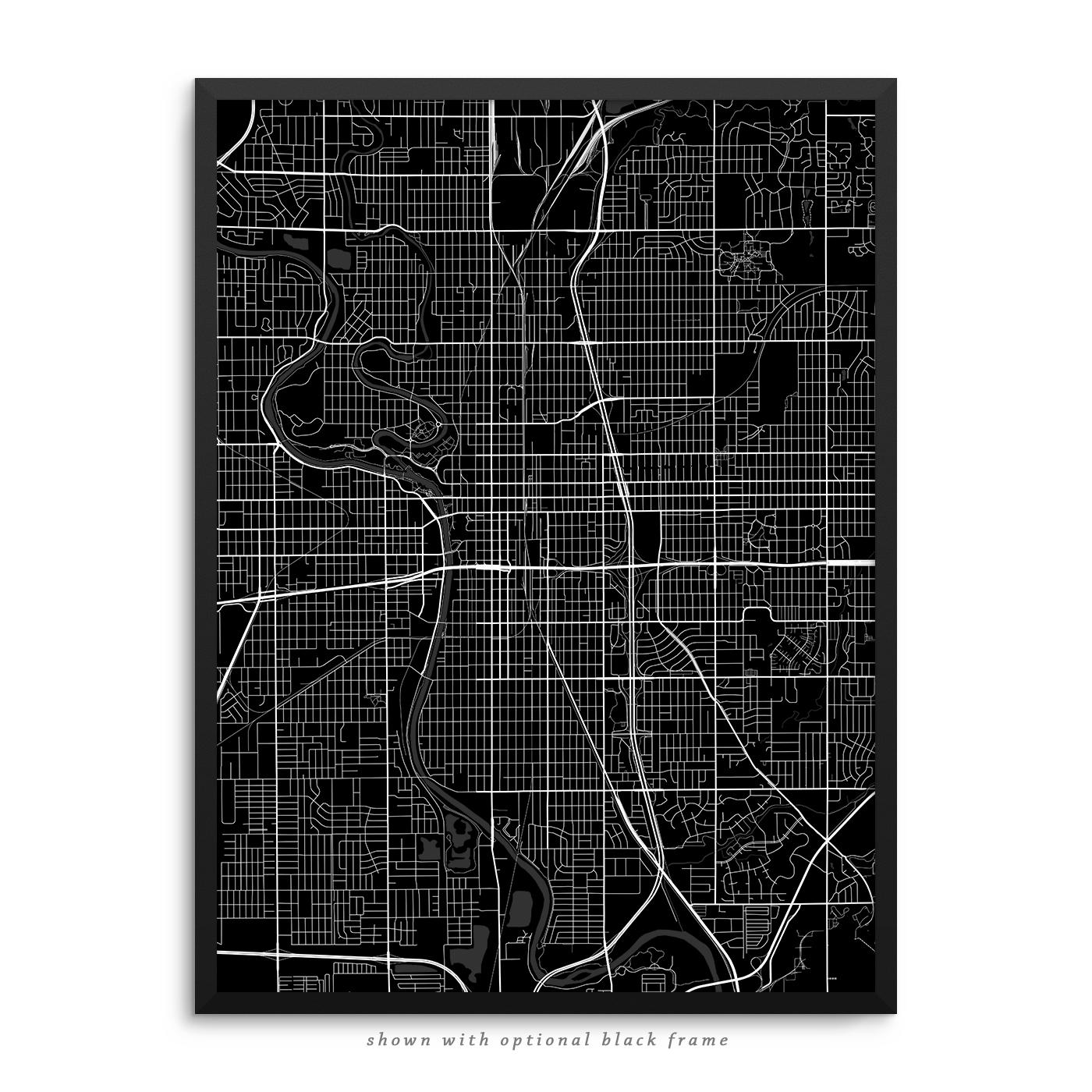 Home Decor Wichita Ks: Wichita Kansas Poster