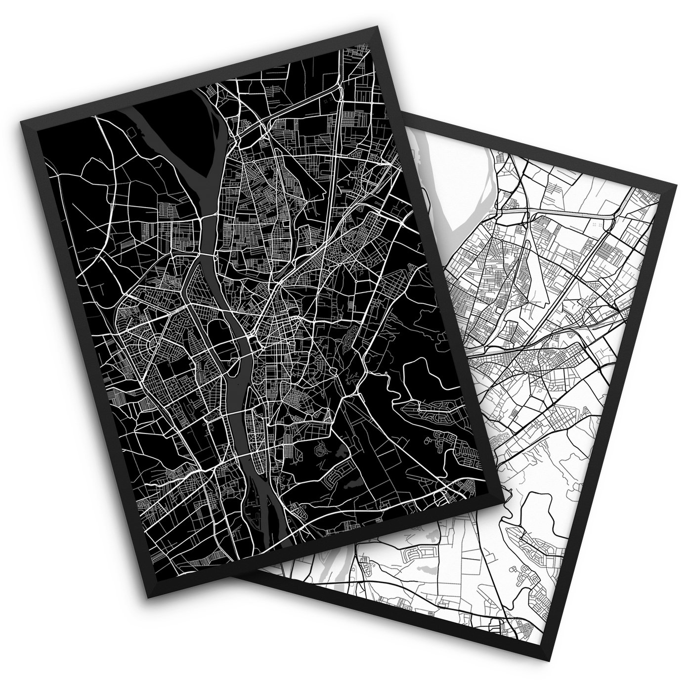 Cairo Egypt City Map Decor