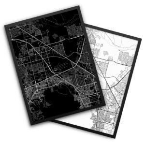 Henderson NV City Map Decor