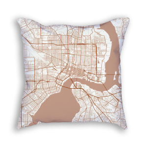 Florida City Map.City Map Decor Map Decor For All Your Spaces