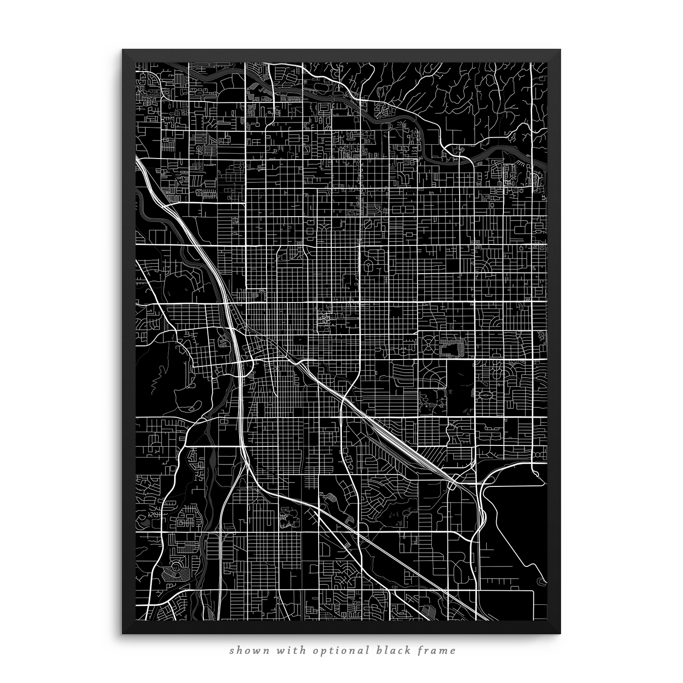 picture regarding Printable Map of Tucson Az identify Tucson Arizona Poster